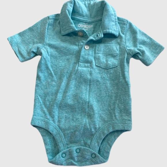 OshKosh B'gosh Pocket Polo Bodysuit